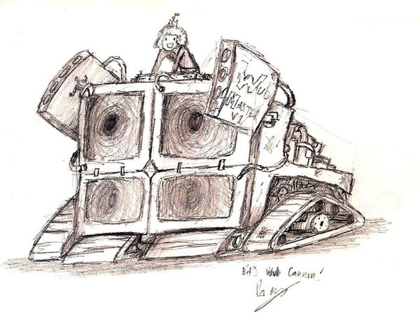 Bit's Wub Cannon by Herbie-and-Company