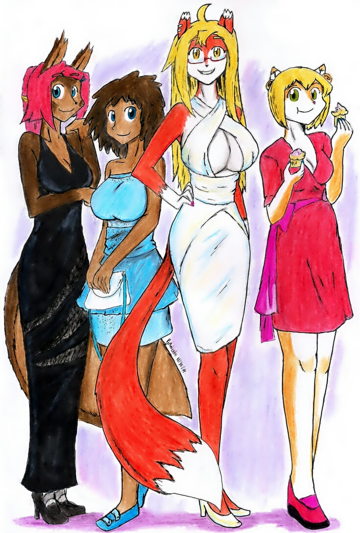Life In New Kirk: Cocktail Ladies by Herbie-and-Company