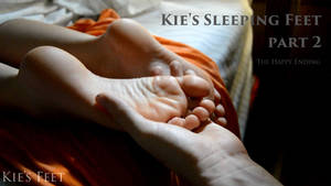 VIDEO: Kie's Sleeping Feet: Part 2 (UNCUT)
