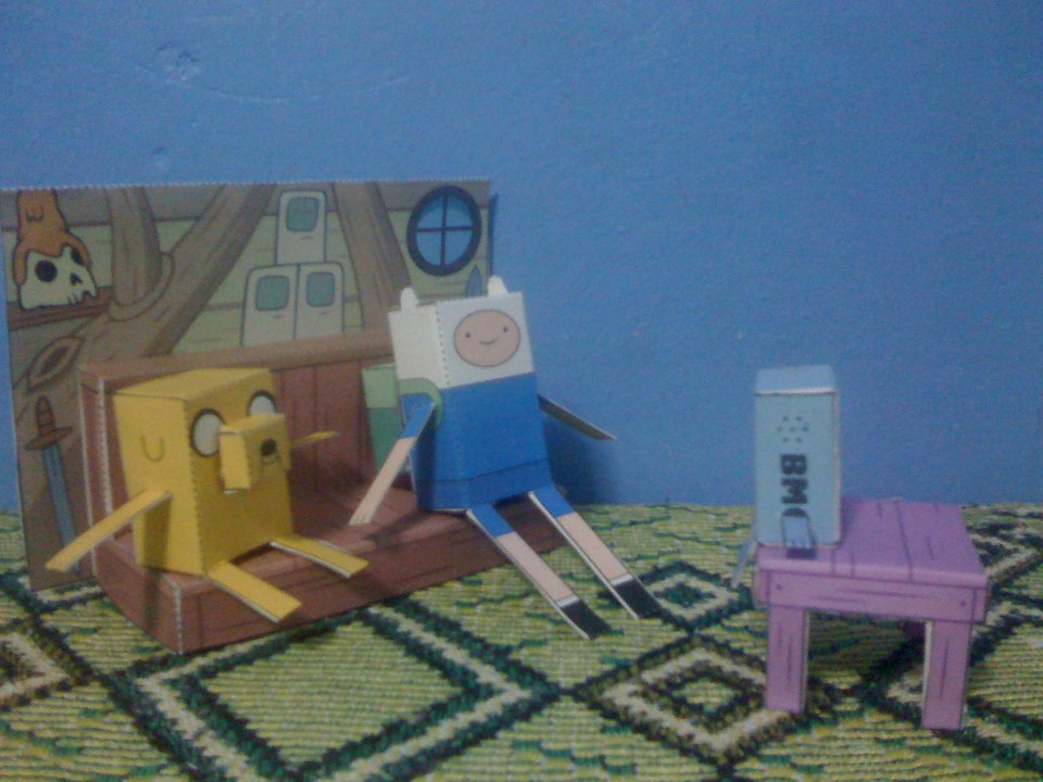 Tree House Diorama Adventure Time By JancerBlut