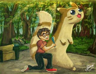 Pokemon Trainer Ham by aburuham
