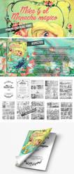 Mika y el mapache magico comic by aburuham