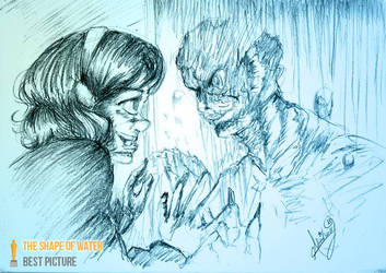 The Shape of water by aburuham