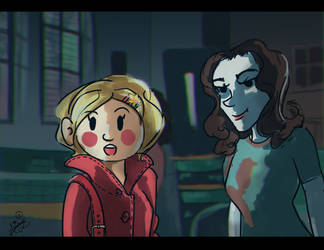 Chilling adventures of Sabrina by aburuham