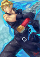 Cloud Strife by tamaharian