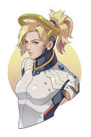 Overwatch - Mercy by tamaharian