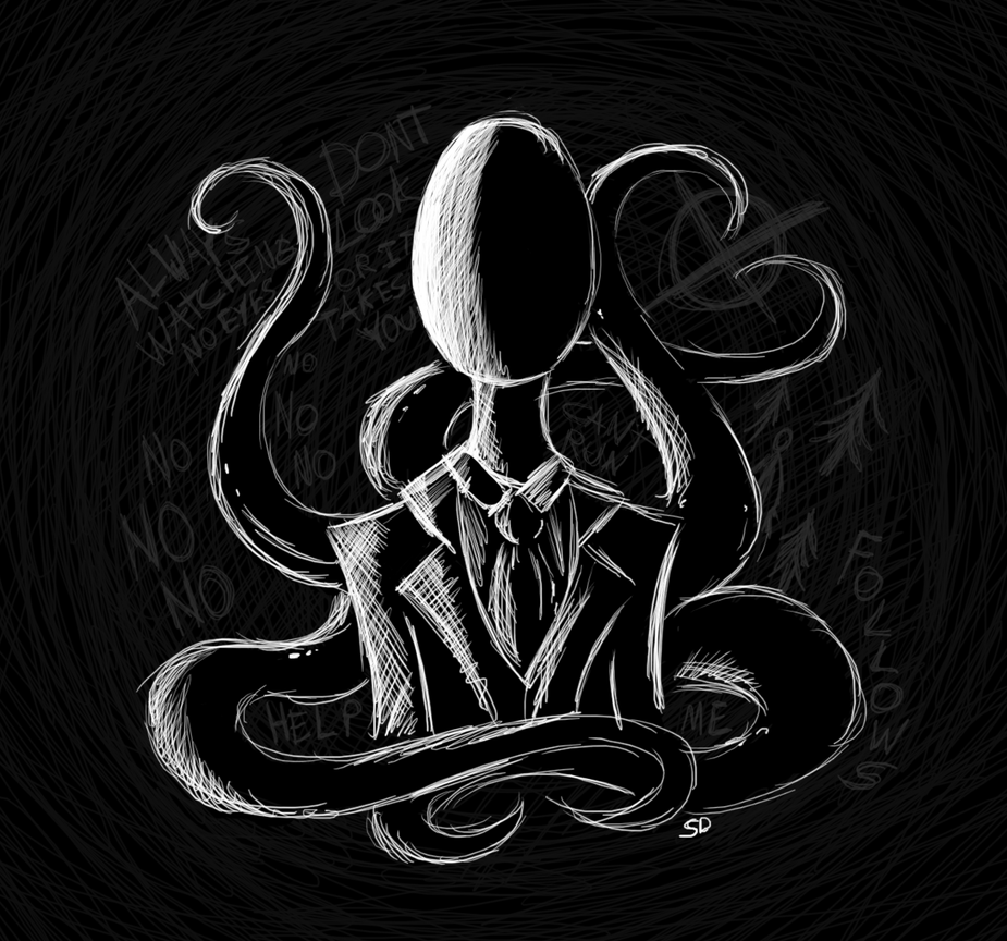 They Call Him Slender by SilenceoftheDawn