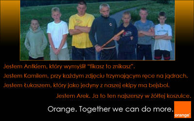 Porwity Hooligans - Orange ad