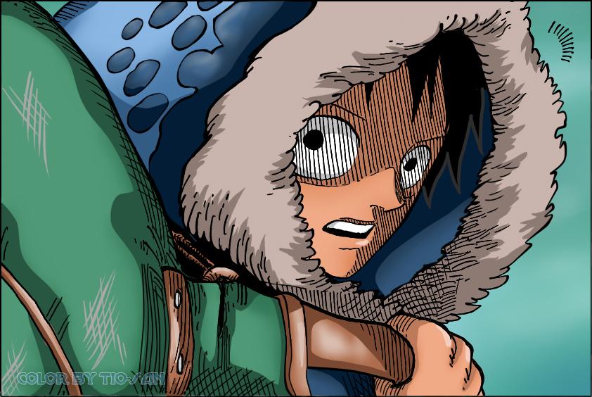One Piece 598 Luffy by Tio-san