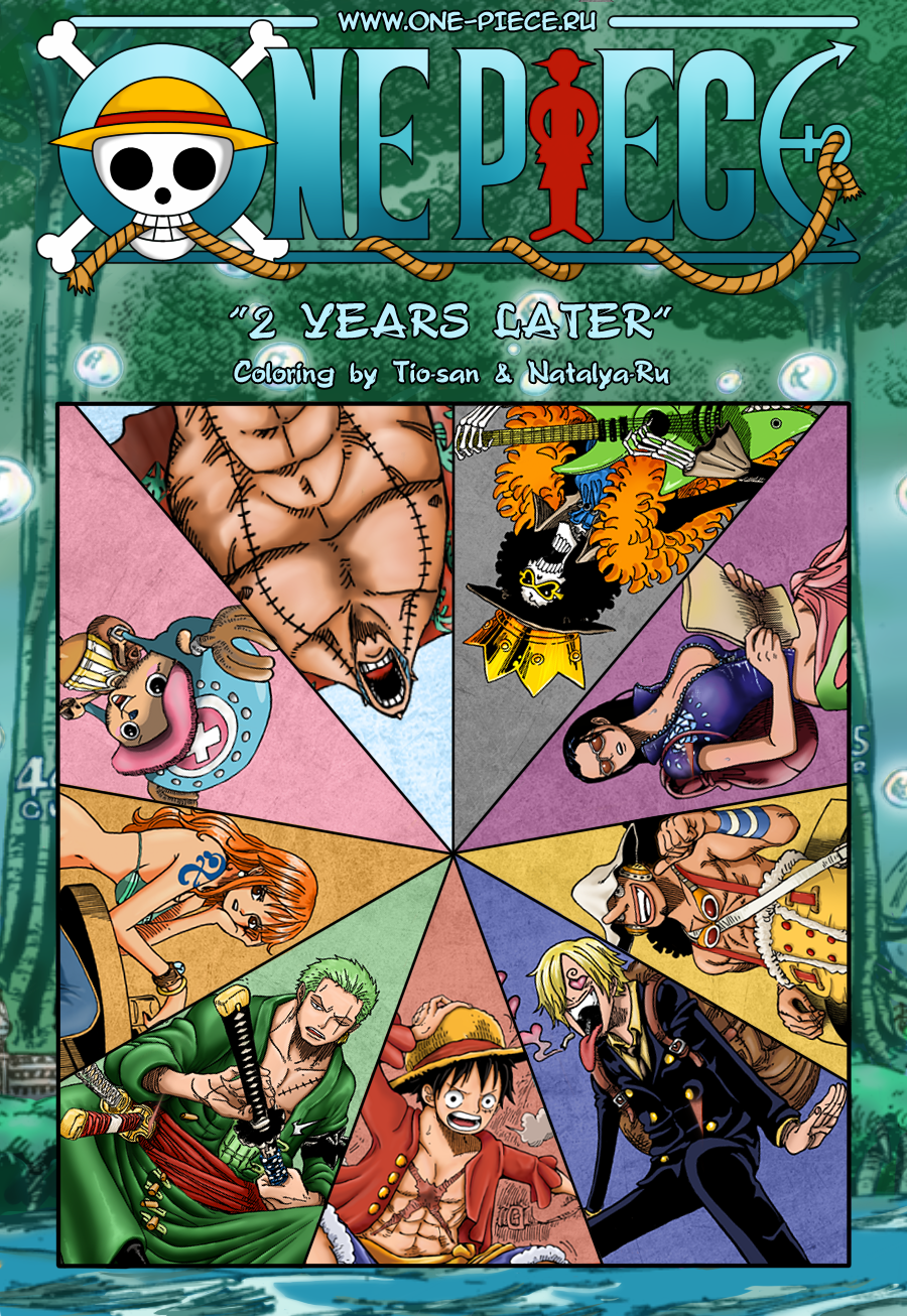 One piece - 2 Years later by Tio-san on DeviantArt