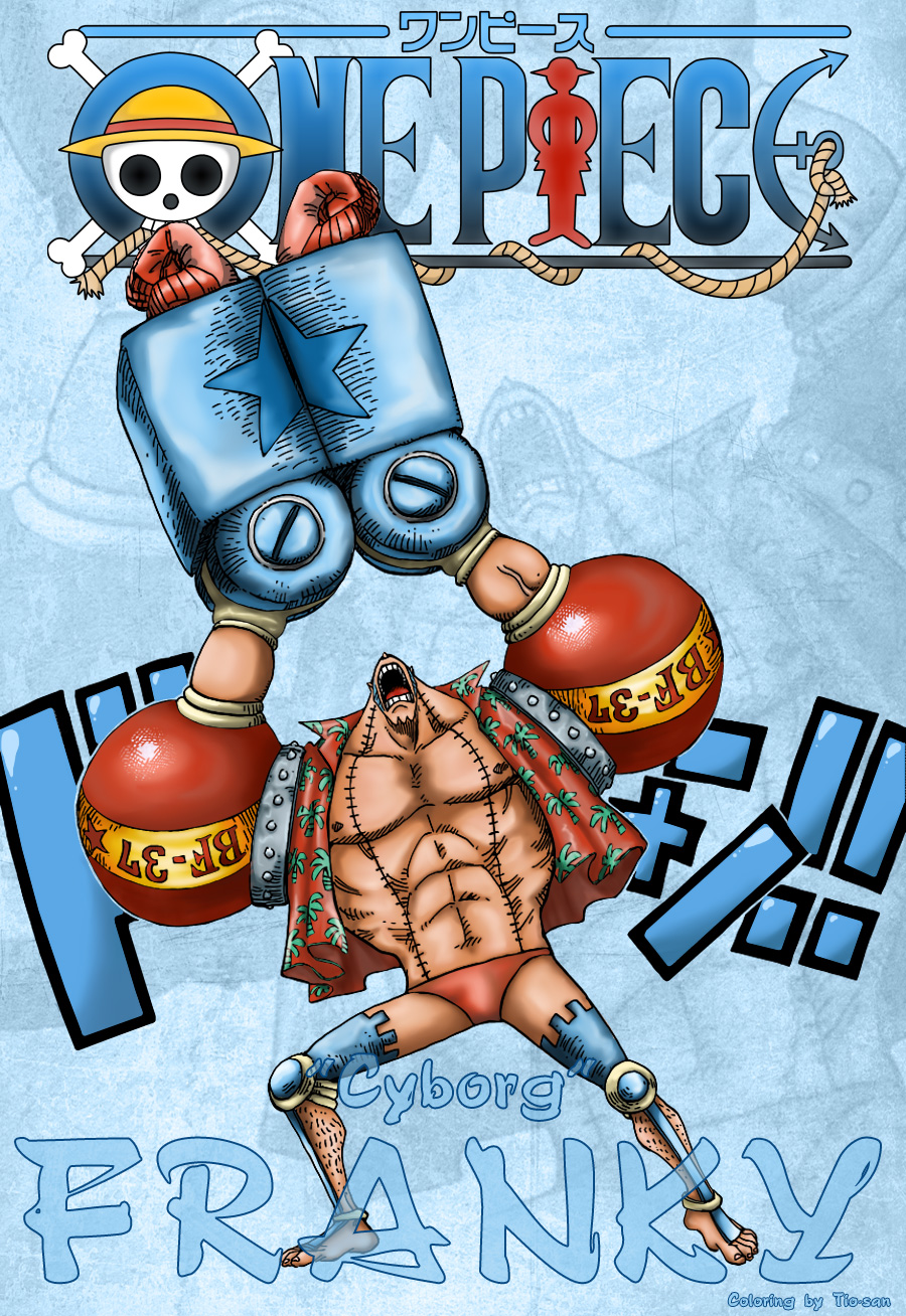 2 Years later - Franky by Tio-san on DeviantArt