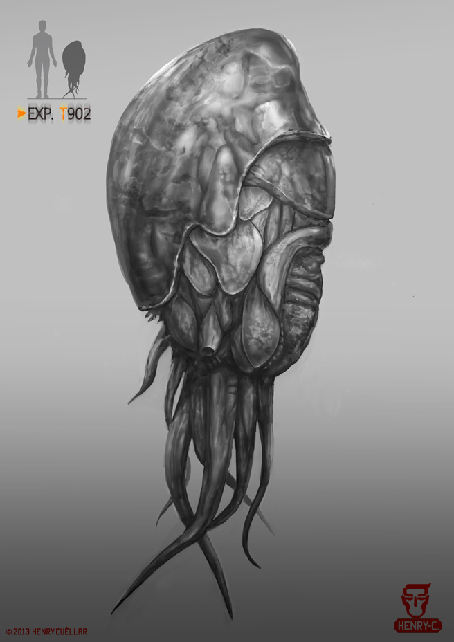 Creature 902 by Skeletal-Alien