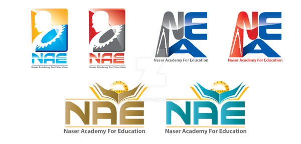 NAE logo concepts by esaber