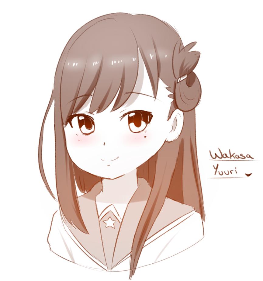 wakasa Yuuri by HearlessSoul