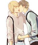 Sketchy kiss
