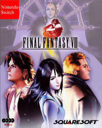 Fake Switch Cover Final Fantasy VIII by darren9999