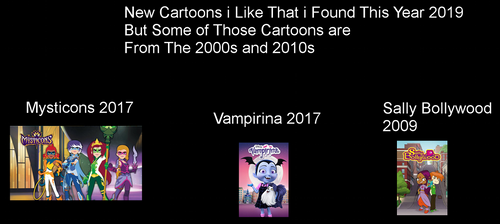 Cartoons i Found out This Year That i Like by darren9999