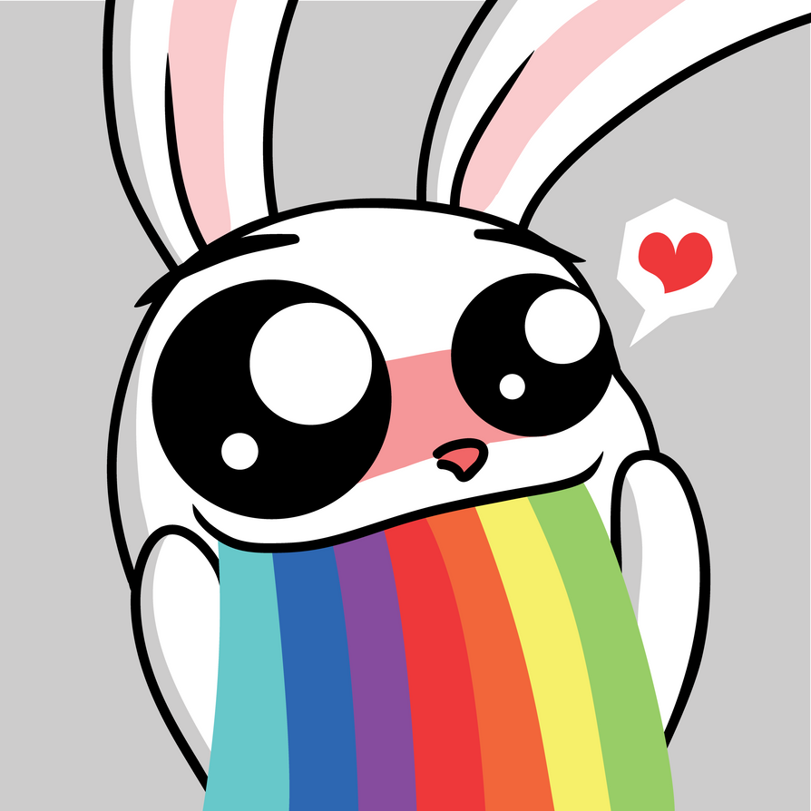 Puke Rainbows Asdf Puk...