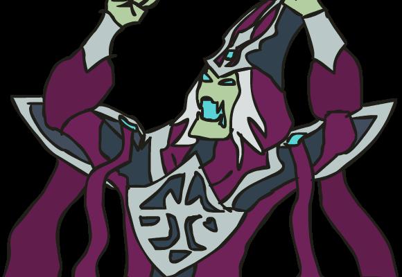 League of Legends - Karthus Skeletor by Zhuhai-Syseros