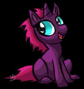 [Spoiler] Baby Edgehorse by SallinDaemon