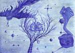 Drzewo poznania dobra i zla. by CorvusCorax13
