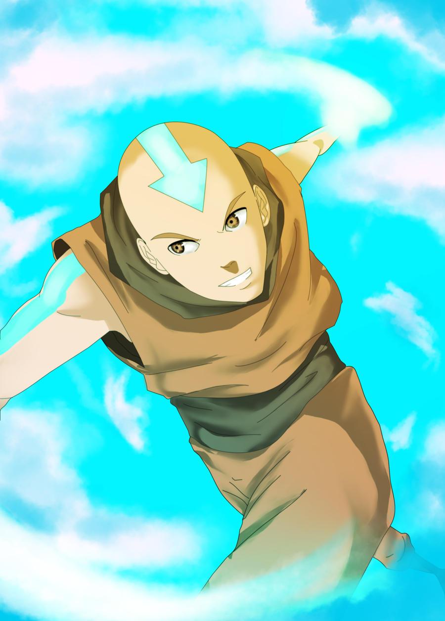 Avatar Book 4 Aang by francosj12 Avatar Cartoon Book 4