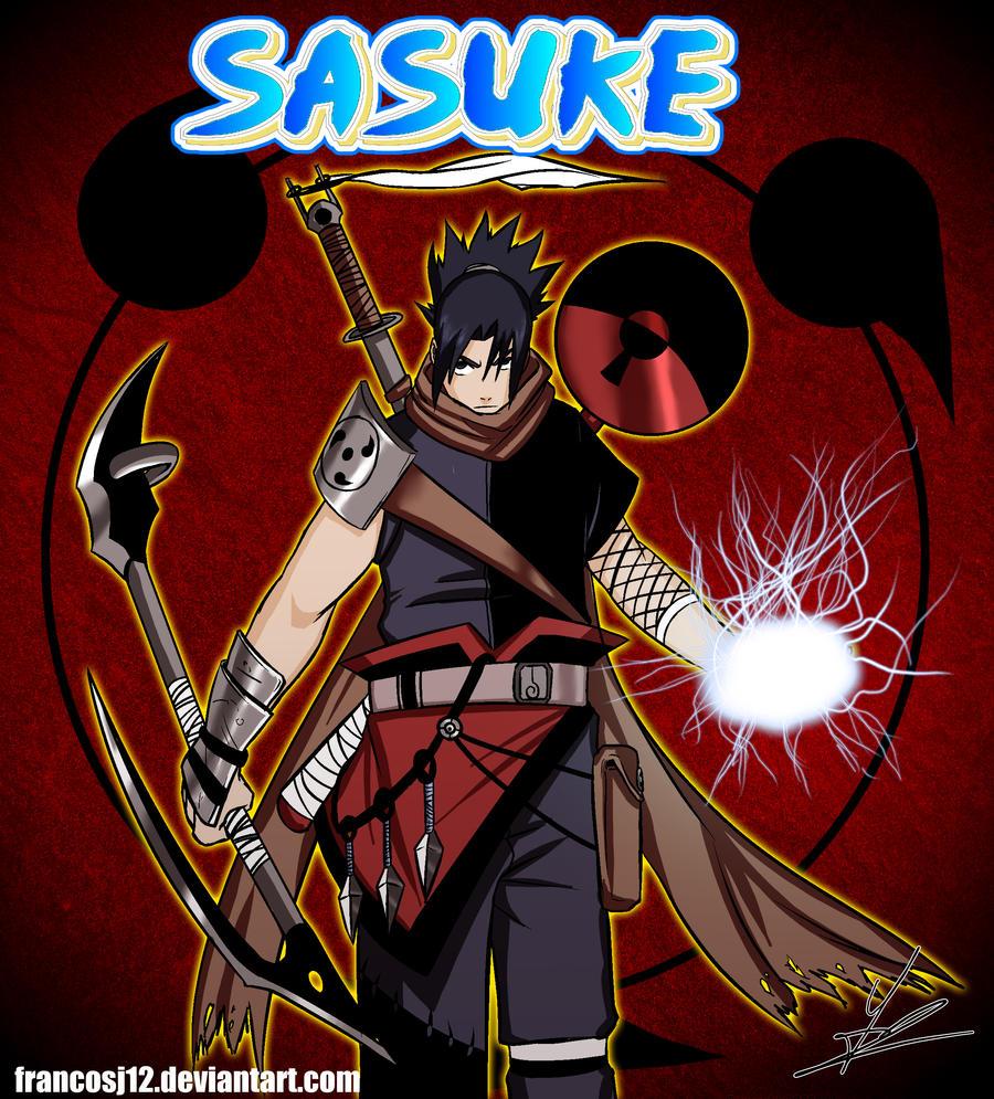 Sasuke Uchiha Naruto By Francosj On Deviantart