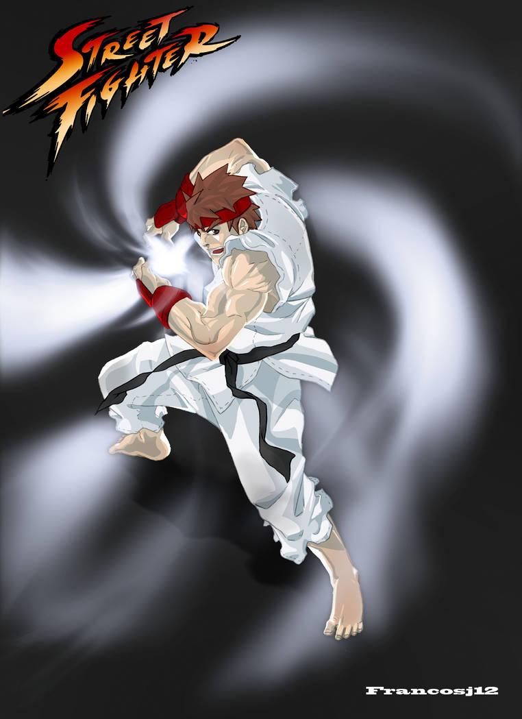 Ryu Hadouken by francosj12 on DeviantArt