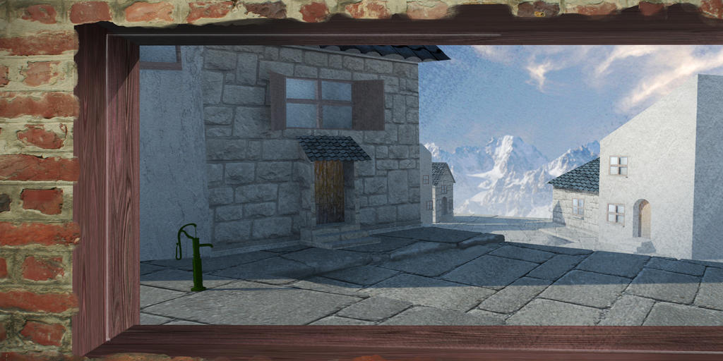 First 3D environment by francosj12
