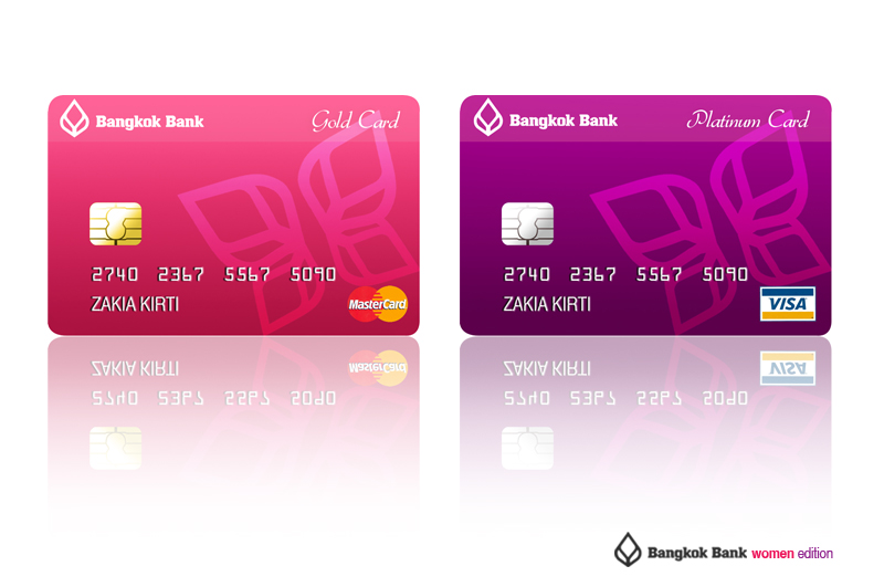 Bangkok Bank Card For Women By Andickhart On Deviantart