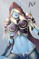 Sylvanas (World of Warcraft / Heros of The Storm) by Aonoo