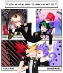 [ Four Ships Challenge ] BNHA Version by rukatakushima