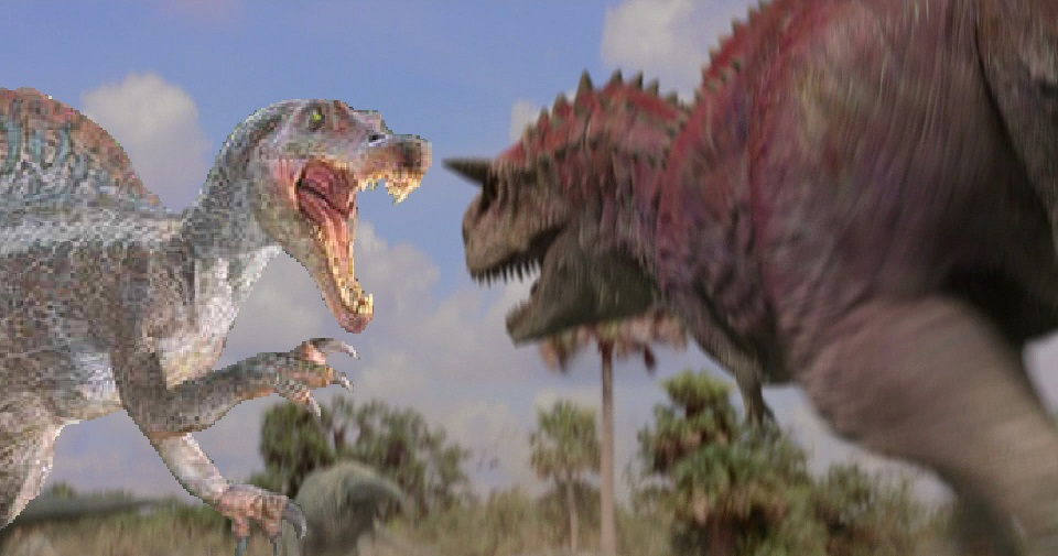 Vs Spinosaurus Picaren...