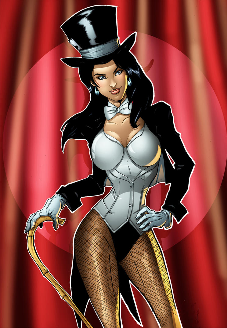 Zatanna Fan Art by Huma Comics by HumaComics