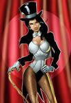 Zatanna Fan Art by Huma Comics