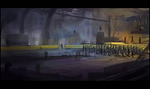 Steampunk Concert Hall