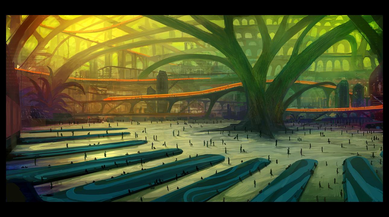 Mirandopolis: Mainstation by gizmodus