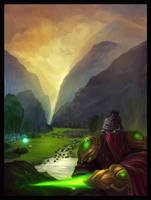 Zeratul in Agria Valley
