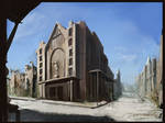 Wasteland City Concept 2
