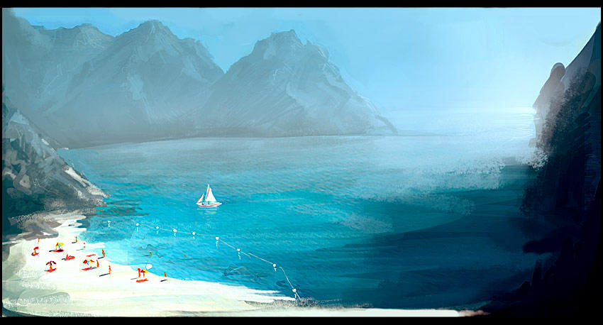 Leisure Bay by gizmodus