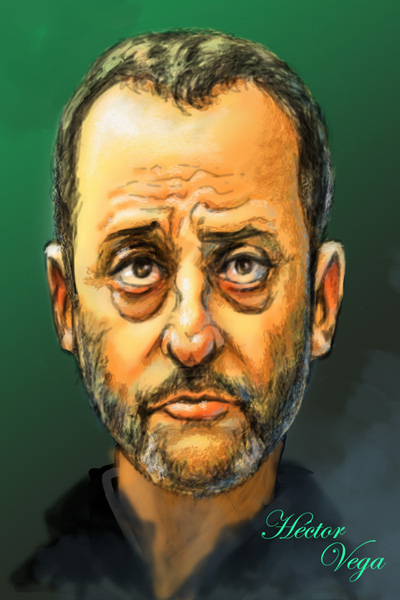 Jean Reno colored by dalanator