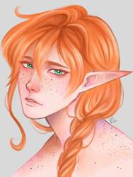 Cedric Portrait by ra-chan-ra