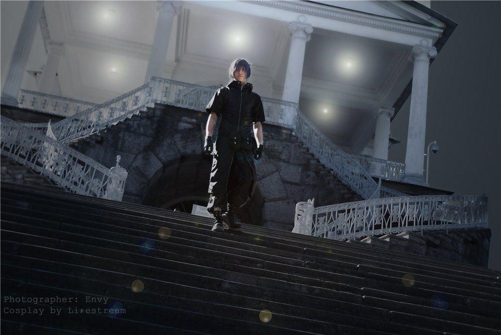 Stairway - Noctis by Narga-Lifestream