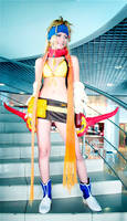 Rikku cosplay