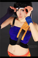Oops, my band is slipping down -  Yuffie cosplay by Narga-Lifestream