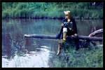 Lamento ~Beyond the void~ - Blue lake by Narga-Lifestream