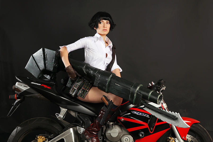 Time to drive! Devil may Cry 3 by Narga-Lifestream