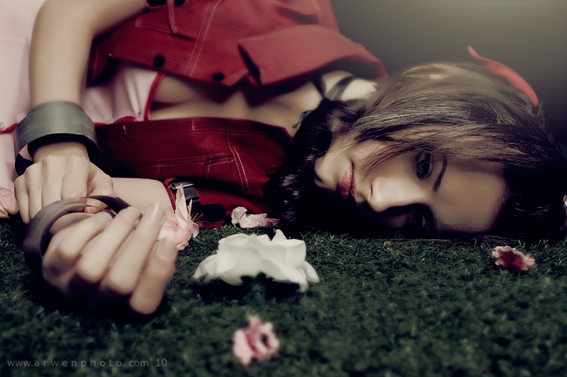 Lifeless - Aerith cosplay by Narga-Lifestream