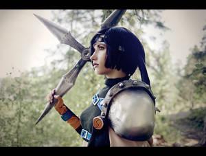 Young ninja - Yuffie cosplay