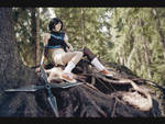 Roots of wood - Yuffie cosplay